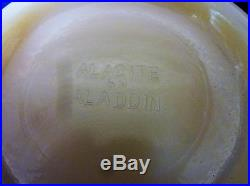 Candy Jar & Lid Alacite 5.5 tall 5.25 across Aladdin Mantle Lamp Company