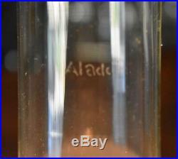 Converted Aladdin Washington Drape Oil Lamp Kerosene Lamp Quilted Diamond Shade