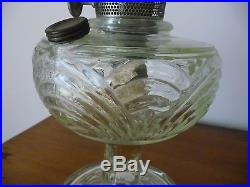 Gorgeous Glass Aladdin Lamp Complete with chimney