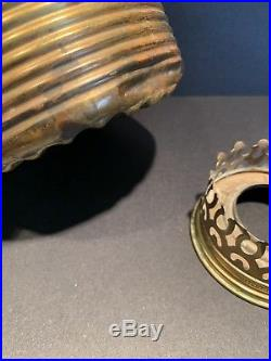 Hanging Ball Model 6 Aladdin Mantle Kerosene Oil Lamp With Early Remake 325 Shade