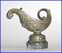 Italian Renaissance Style (19th Cent) Bronze Aladdin Lamp