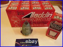 Job Lot Full Box 12 Aladdin Loxon Mantles R150 Lox-on Mantle Paraffin Lamp 23