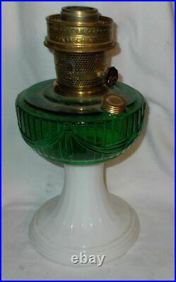 Kerosene Oil Aladdin Lamp Signed & Dated 2004