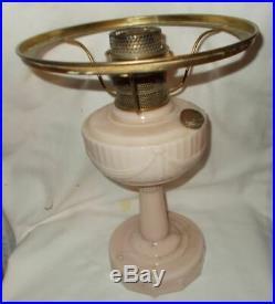 Kerosene oil Aladdin Lamp Alacite Lincoln drape with shade