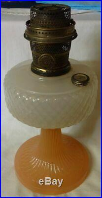 Lamp Aladdin Mantle Kerosene Model Vintage Lox Wick B Oil Company Lamps Chimney