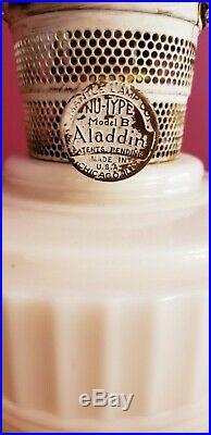 Lincoln Drape Aladdin Oil Lamp Nu-Type Model B Kerosene