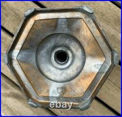 Look! Very Nice! Aladdin B-121 Majestic Rose Moonstone Lamp Circa 1935-1936