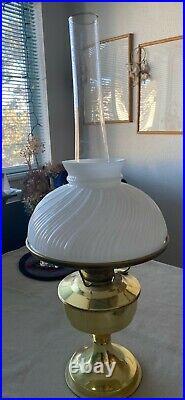 Lovely Gold Aladdin Lamp Kerosene or Oil