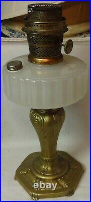 Majestic White Kerosene Lamp Aladdin Mantle Lamp Company