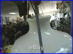 Model B 20'' Tall Aladdin Lincoln Drape Kerosene Lamp w White Shade Washington