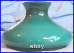 NEW 10 GLASS SHADE GREEN CASED TAM O SHANTER fits oil kerosene lamp Aladdin