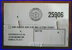 NEW ALADDIN CLASSIC CHROME INCANDESCENT KEROSENE LAMP FG23300 S2301 24 Tall