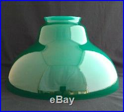 NIB Aladdin Deluxe Hanging Oil Lamp- BH210G Green Bell Shade