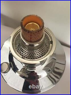 NOS Aladin 23 Chromed Kerosene Lamp Almost Complete