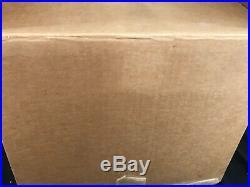 New Open Box Aladdin Lamp Genie III Ruby Red Brass Model 23 Kerosene Chimney NOS