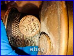 Oil Kerosene lamps Aladdin Plumbwood 1904 success more