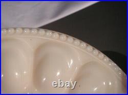 Old Aladdin Alacite Egg Plate, Aladdin Kerosene Lamp Co, Unused