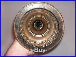 Old, Rare Aladdin No. 2 Kerosene Lamp, Complete, Flame Spreader, Wick Holder