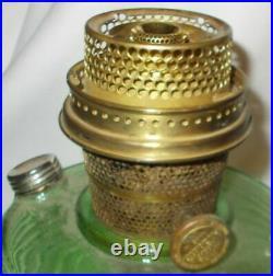 Original Kerosene Aladdin Lamp Beehive Green