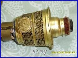 Original vintage Aladdin Nu Type model B brass burner withflame spreader