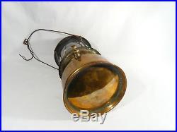 RARE Vintage BRASS Aladdin Kerosene Pressure Camping Lantern Lamp