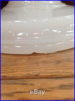 Rare Aladdin White Moonstone SOLITAIRE Kerosene Oil Lamp