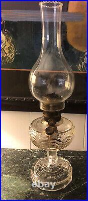 Rare Antique Aladdin Model B Lamp Glass 1933-1948
