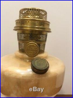 Rare Model B-27 Gold Lustre Alacite Simplicity 1948-53 Aladdin Kerosene Lamp