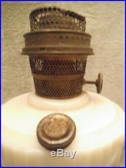 Rare Vintage Aladdin Alacite Oil Lamp Lincoln Drapes Model B 1939 Solitaire Foot