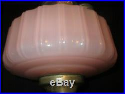 Rose Moonstone Aladdin Corinthian Oil Lamp1935-1936