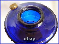 TALL LINCOLN DRAPE COBALT BLUE Vintage ALADDIN Mantle Lamp Excellent Cond