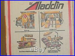 Two Vintage Matched Aladdin Kerosene Mantle Lampsnever Out Of Sealed Boxes