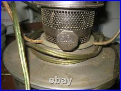 Unused Vintage ALADDIN Caboose Wall Bracket Lamp plus extra electrified lamp