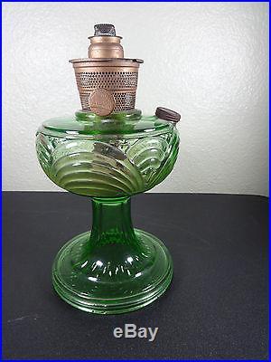 Vintage 1930 S Green Aladdin Washington Drape Model B