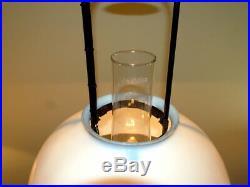 VINTAGE Hanging ALADDIN KEROSENE LAMP MODEL 12 burner with shade (Electric)
