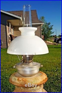 VTG 1963 69 Aladdin Model 21 Aluminum Kerosene Wall Sconce Caboose RR Lamp