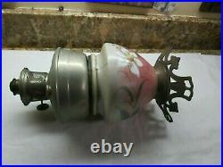 VTG ALADDIN OIL LAMP GLASS BASE Model #12 Burner VASE LAMP