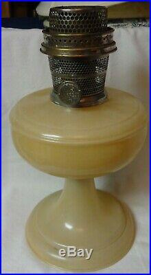 Venetian Peach Kerosene Lamp Aladdin Mantle Lamp Company