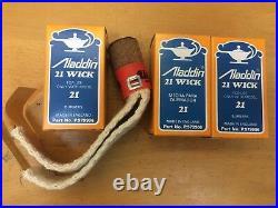 Véritable Aladdin Lampe Wick P979906 2.5cm Modèle 21 Brûleur Pétrole Kérosène