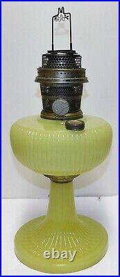 Vertique Yellow Moonstone Kerosene Lamp Aladdin Mantle Lamp Company