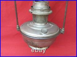 Vintage 1920's 1930's Aladdin Model 12 Hanging Lamp Ceiling 2 Post Oil Kerosene