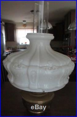 Vintage 1920's or 30's Aladdin Model 12 Bronze Oil/Kerosene Lamp
