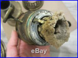 Vintage 1920s ALADDIN MODEL 7 Brass Kerosene Oil Lamp with Burner