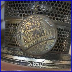 Vintage 1930s/40s Aladdin Nu-Type Model B Kerosene/Oil Mantle Lamp