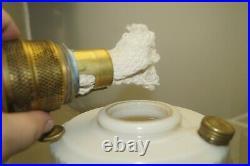 Vintage 1940s Aladdin Lincoln Drape Alacite Oil Kerosene Lamp