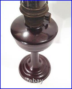 Vintage 1944-52 Aladdin Model 1609 Short Bakelite Oil Lamp Nice RARE