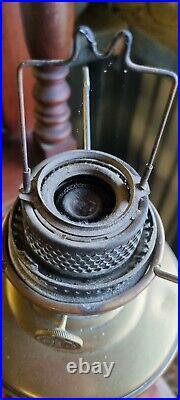 Vintage ALADDIN Model 12 Pedestal Oil Kerosene Lamp