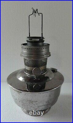 Vintage ALADDIN Model Nº21 Kerosene Oil Lamp & Original Chimney Made in England