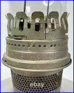 Vintage ALADDIN Railroad Caboose Model 23 Kerosene Oil Lamp