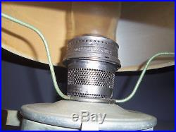 Vintage Aladdin 23 Caboose Kerosene Mantle Lamp With Wall Mount